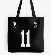 Kei Tsukishima Jersey 11 Tote Bag