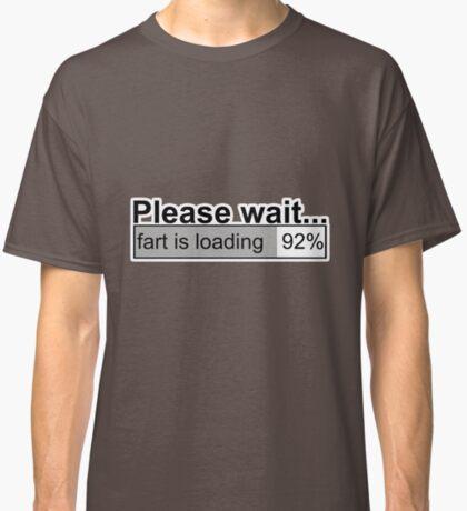 Please wait t-shirts Classic T-Shirt