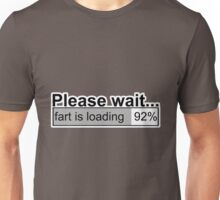 Please wait t-shirts Unisex T-Shirt