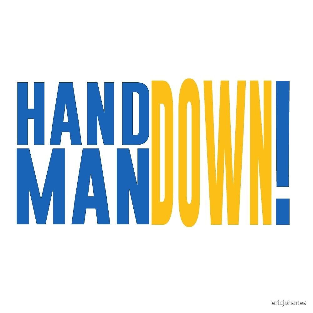 """Hand Down, Man Down!"" -Mark Jackson by ericjohanes"