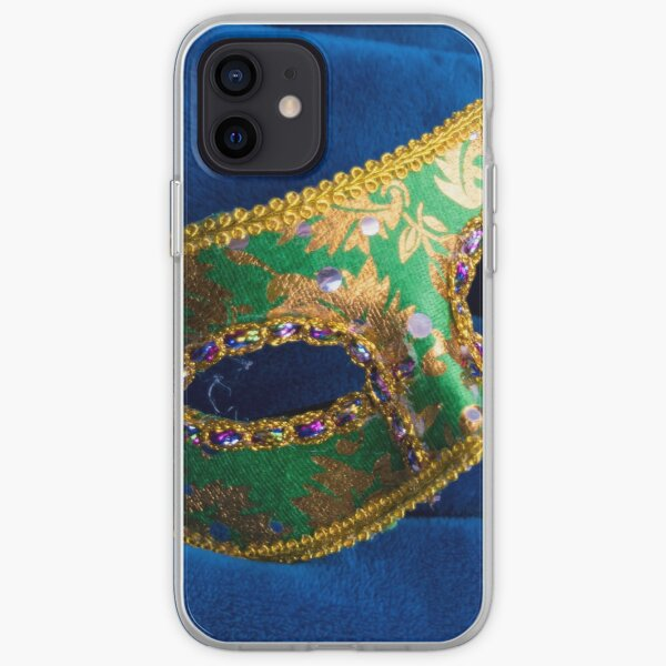Party Mask on Fabric iPhone Soft Case