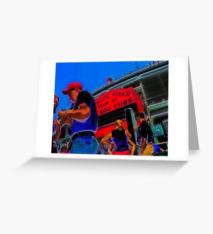 game day tickets Greeting Card