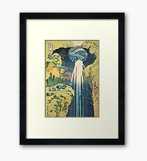 The Amida Pass Framed Print