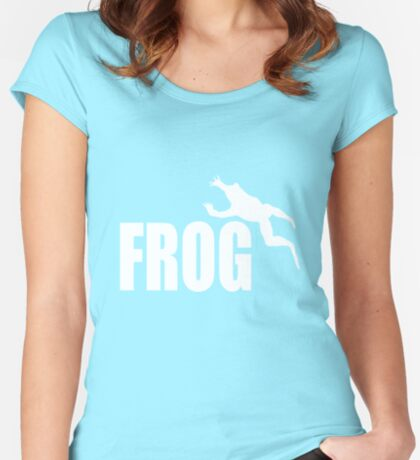 Frog t-shirts Women's Fitted Scoop T-Shirt
