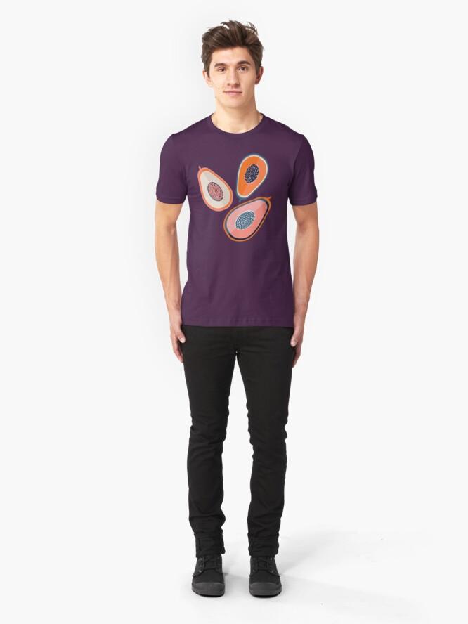 Alternative Ansicht von Papayas Slim Fit T-Shirt