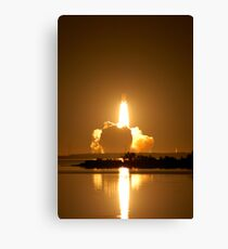 Shuttle Endeavor Night Launch. Canvas Print