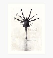 Alien - Facehugger Art Print
