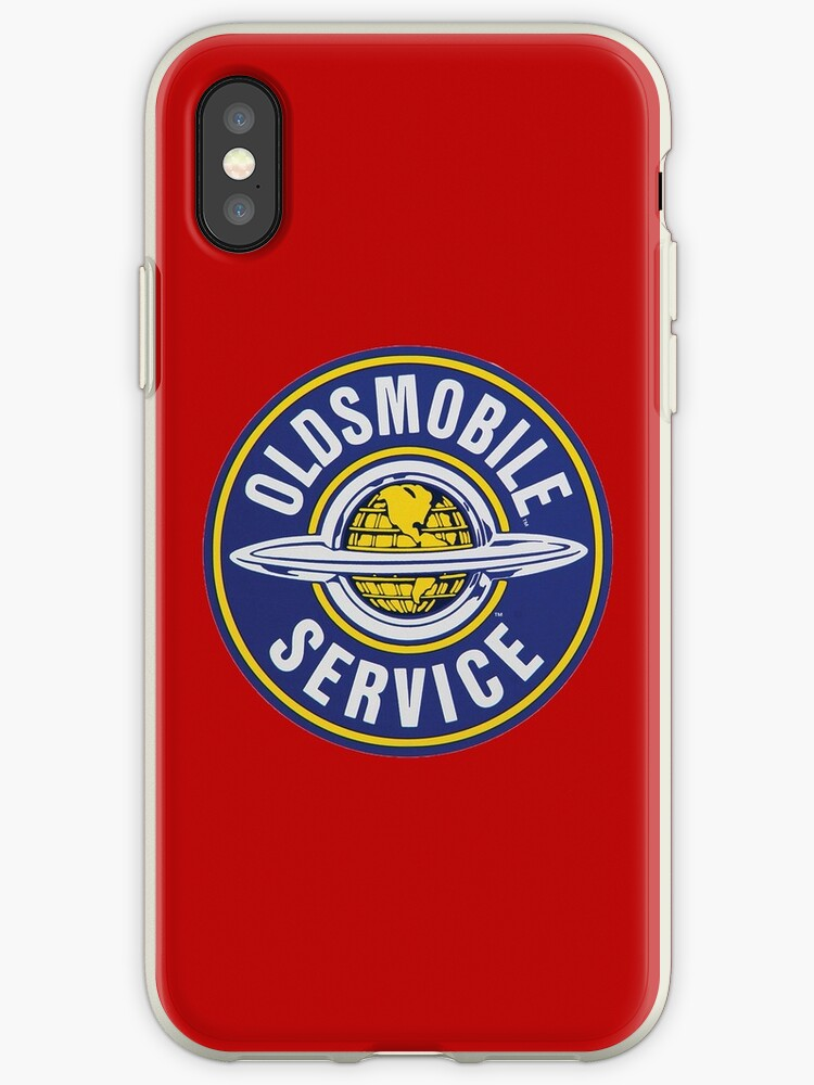 Vintage Oldsmobile Service 00161 Iphone Cases Covers By Drewaw