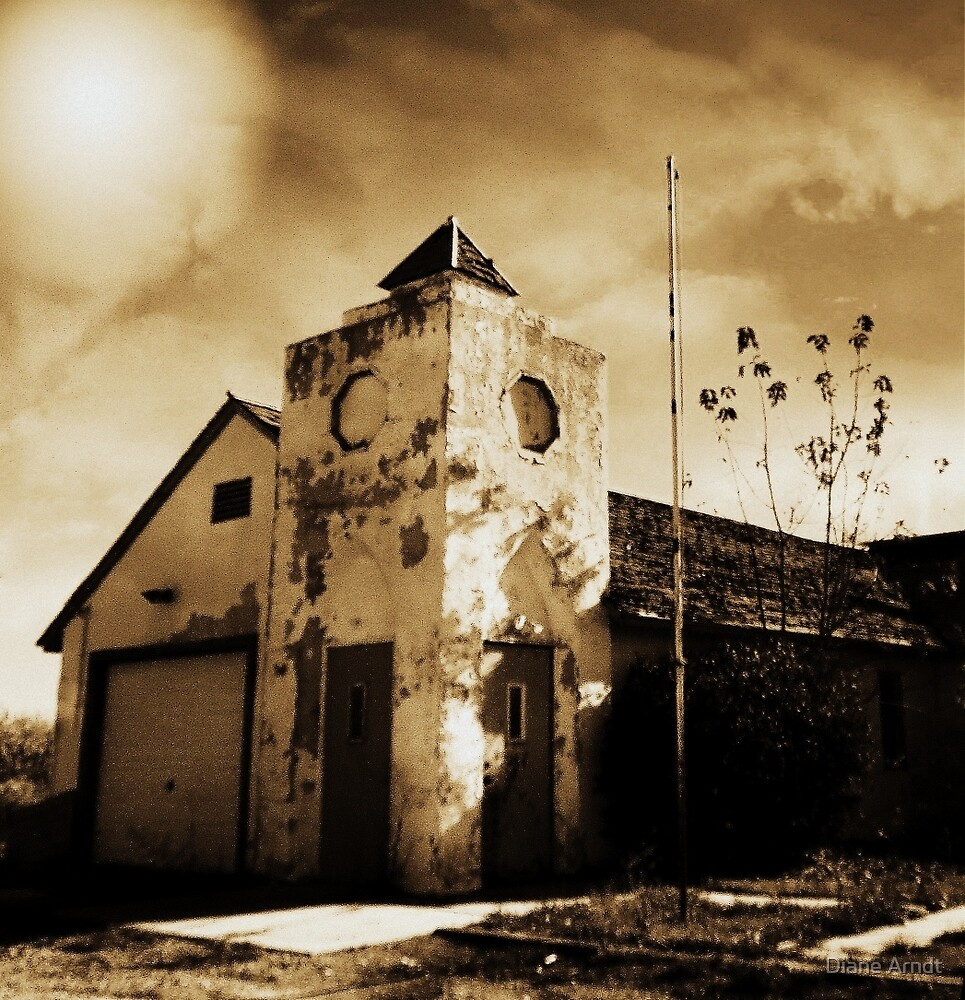 Old Grange Hall.....Caldwell, Idaho by Diane Arndt