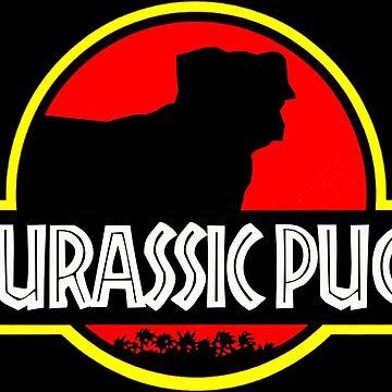 Jurassic Pug by jabz