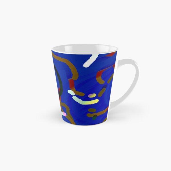 Blue worms Tasse (konisch)