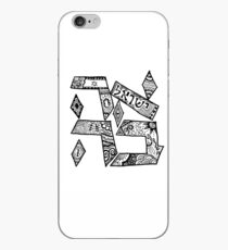 """Ahavah"" - Hebrew Zentangle iPhone Case"
