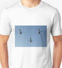 Serbian Air Force Helicopters In Formation Unisex T-Shirt