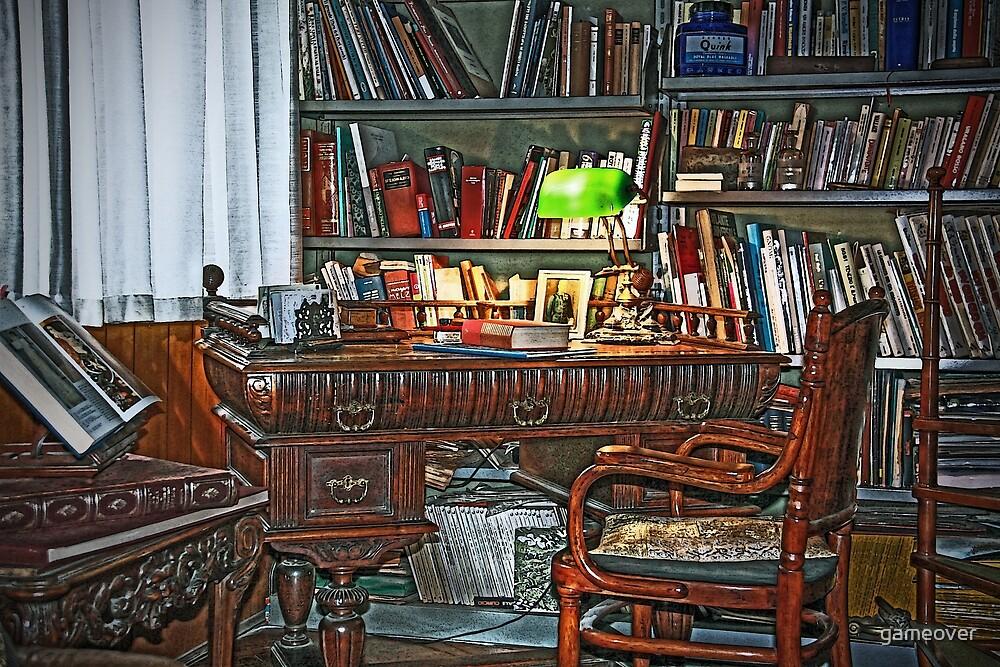 Still life interiors, Fabio's desk by gameover