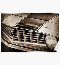 1969 Chevrolet Camaro Z 28 Grille Emblem-1363s Poster