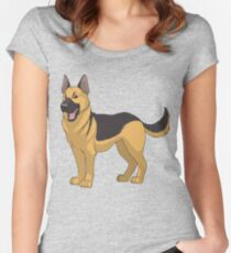 Funny For German Shepherd Shirt Women's Fitted Scoop T-Shirt