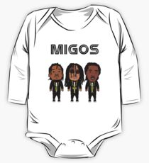 Migos Caricature One Piece - Long Sleeve