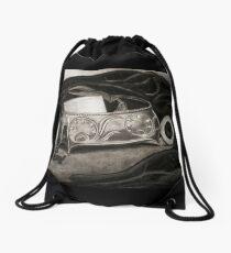AutoBiography Drawstring Bag
