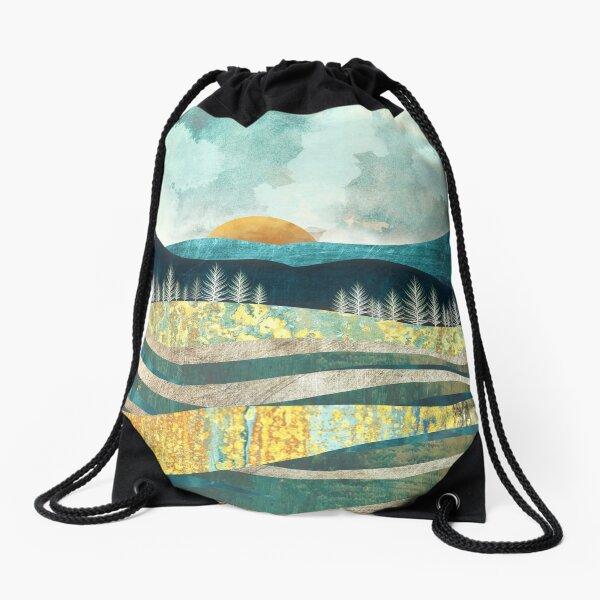 Late Summer Drawstring Bag