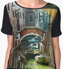Pictorial Venice - timeless perspective and beautiful lanscape Chiffon Top