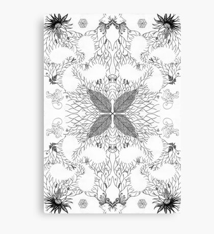 Nature's Patterns Canvas Print