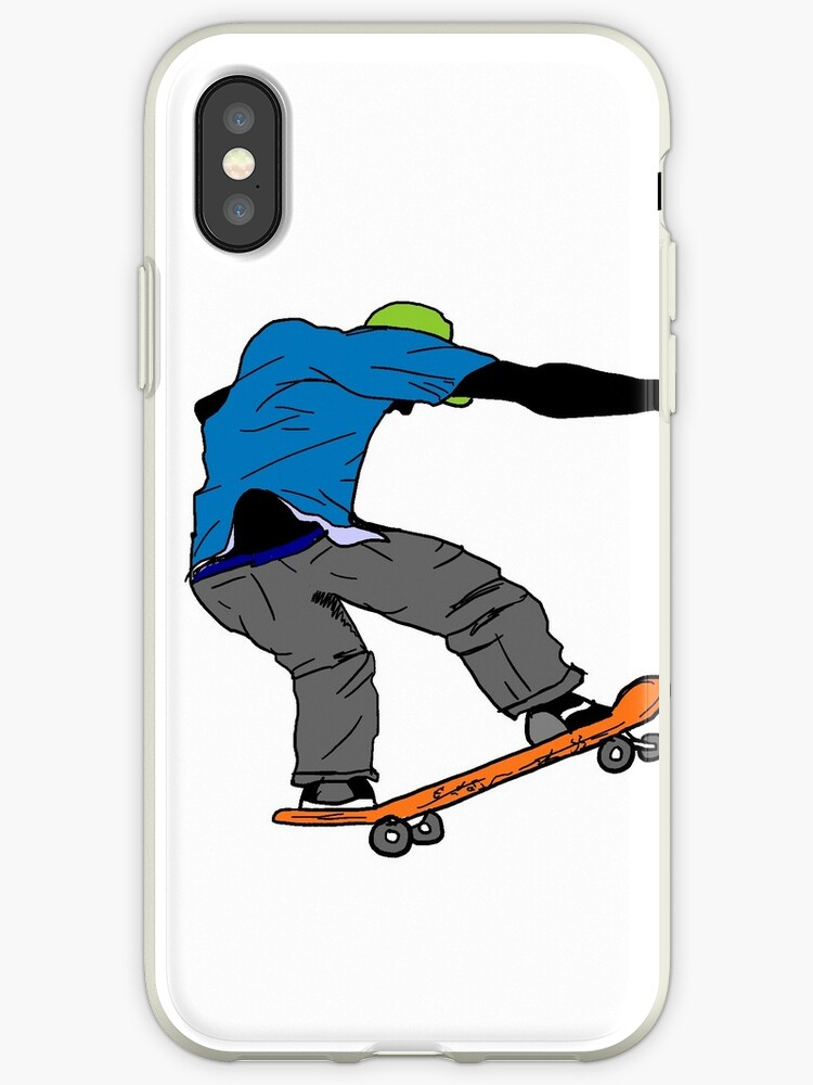 Blue shirt street skateboarder by artisticattitud