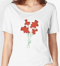 Florence Nightingale's Statistical Bouquet Women's Relaxed Fit T-Shirt