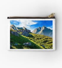 rocky hills in mountains Studio Pouch