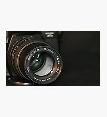 Sigma Zoom Photographic Print