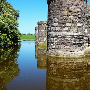 The Towers of Beaumaris Castle by trish725