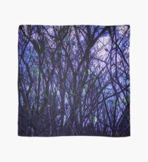 Dark Purple Forest Scarf