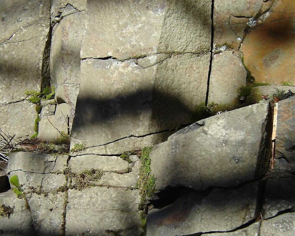 Rock Wall by Deby Moehnke