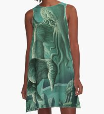 Cthulhu Unleashed A-Line Dress