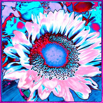 Iced Sunflower by OneDayArt