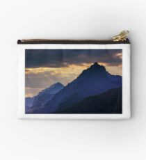 rocky tops at sunset Studio Pouch