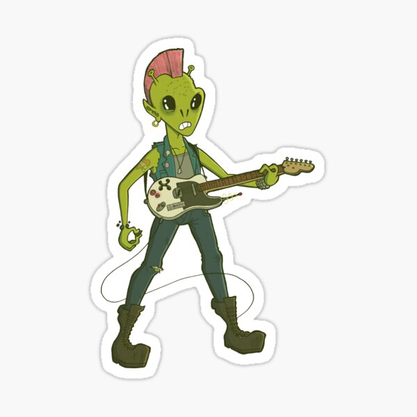 Space Rock Sticker