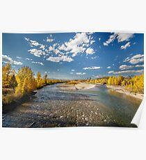 North Fork Flathead River Poster