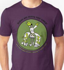 Alien-Alien Robot Animal Planet Comic Monster Design Unisex T-Shirt