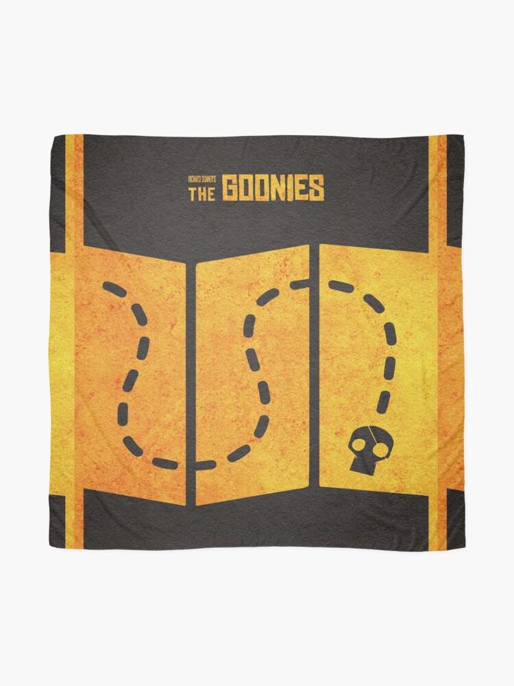 Alternative Ansicht von Das minimalistische alternative Filmplakat Goonies Tuch