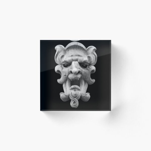 140w71 man Acrylic Block