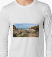 Epphaven cove  north cornwall Long Sleeve T-Shirt