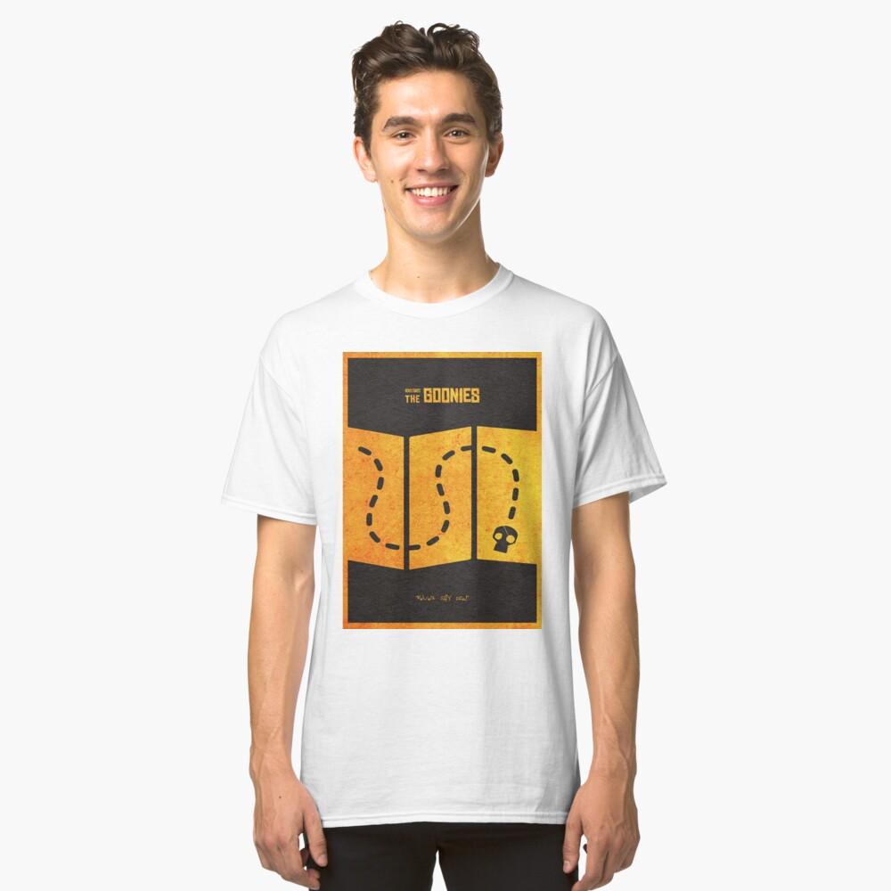 Das minimalistische alternative Filmplakat Goonies Classic T-Shirt