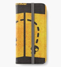 The Goonies Minimalist Alternative Movie Poster iPhone Wallet