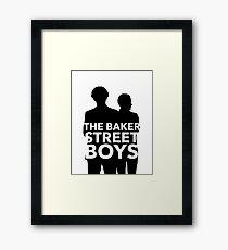The Baker Street Boys Framed Print