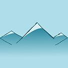Mountain Range Pattern by pda1986