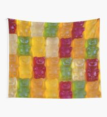 Gummy Bears for All Wall Tapestry