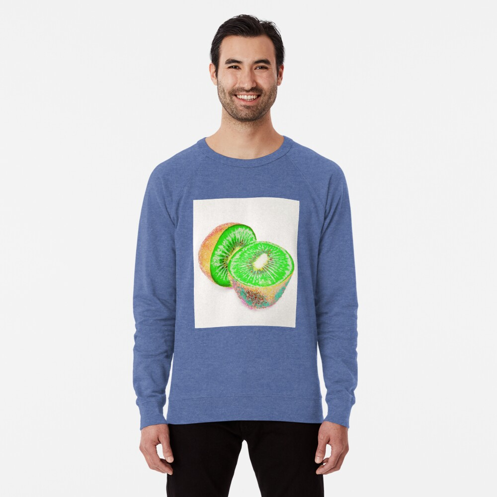Kiwilicious - Fruit Lover Gift Lightweight Sweatshirt