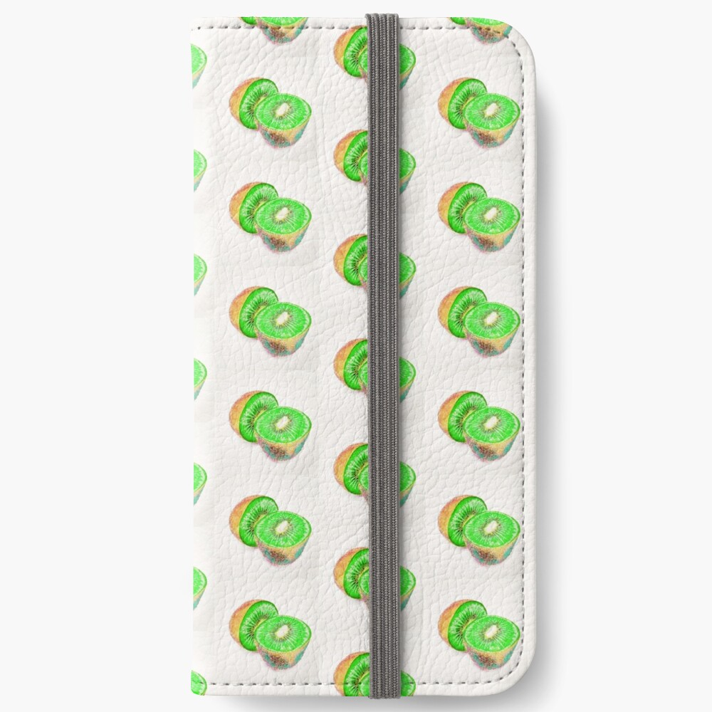 Kiwilicious - Fruit Lover Gift iPhone Wallet