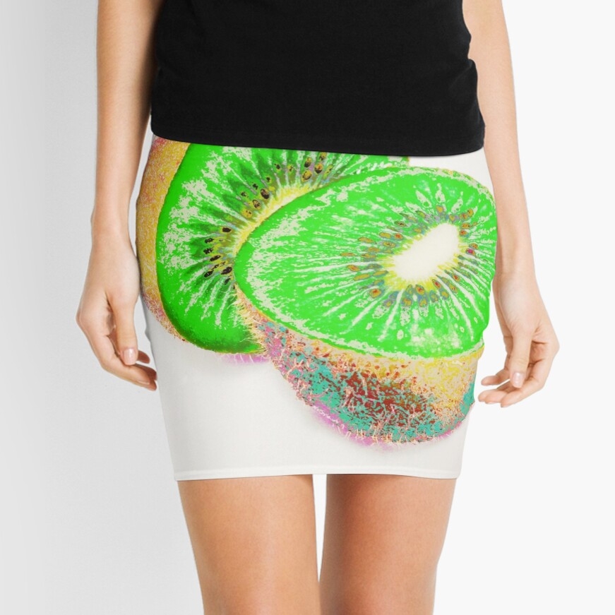 Kiwilicious - Fruit Lover Gift Mini Skirt