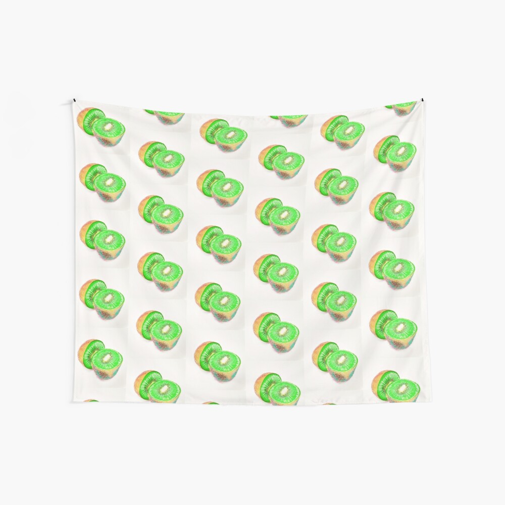 Kiwilicious - Fruit Lover Gift Wall Tapestry